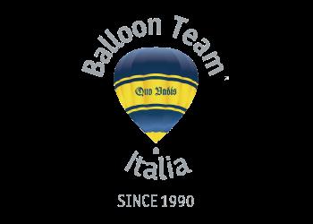 Logo Baloon Team Italia - The Market San Marino Outlet Experience